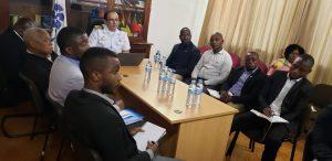 Director e a Equipe do CAE/CPLP